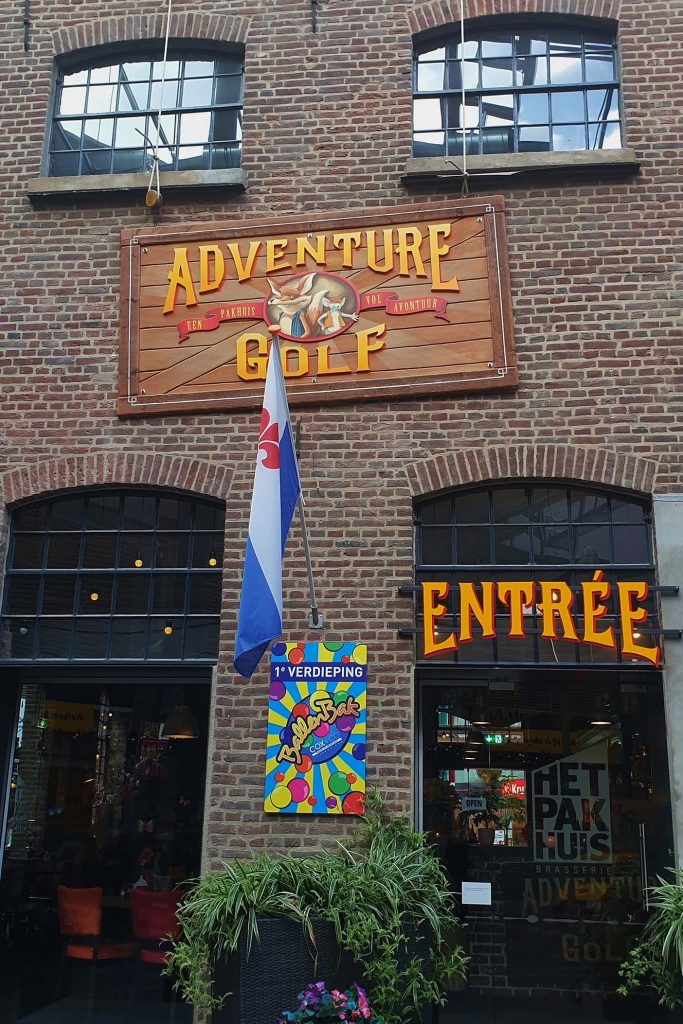 Adventure Golf pakhuis roermond
