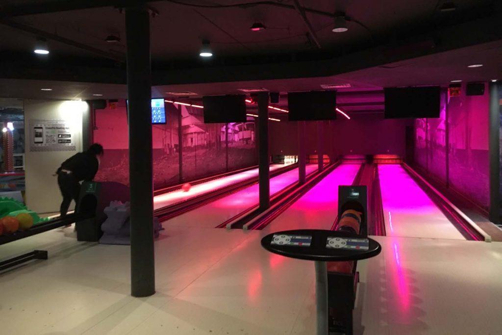Landal stroombroek bowlingbaan