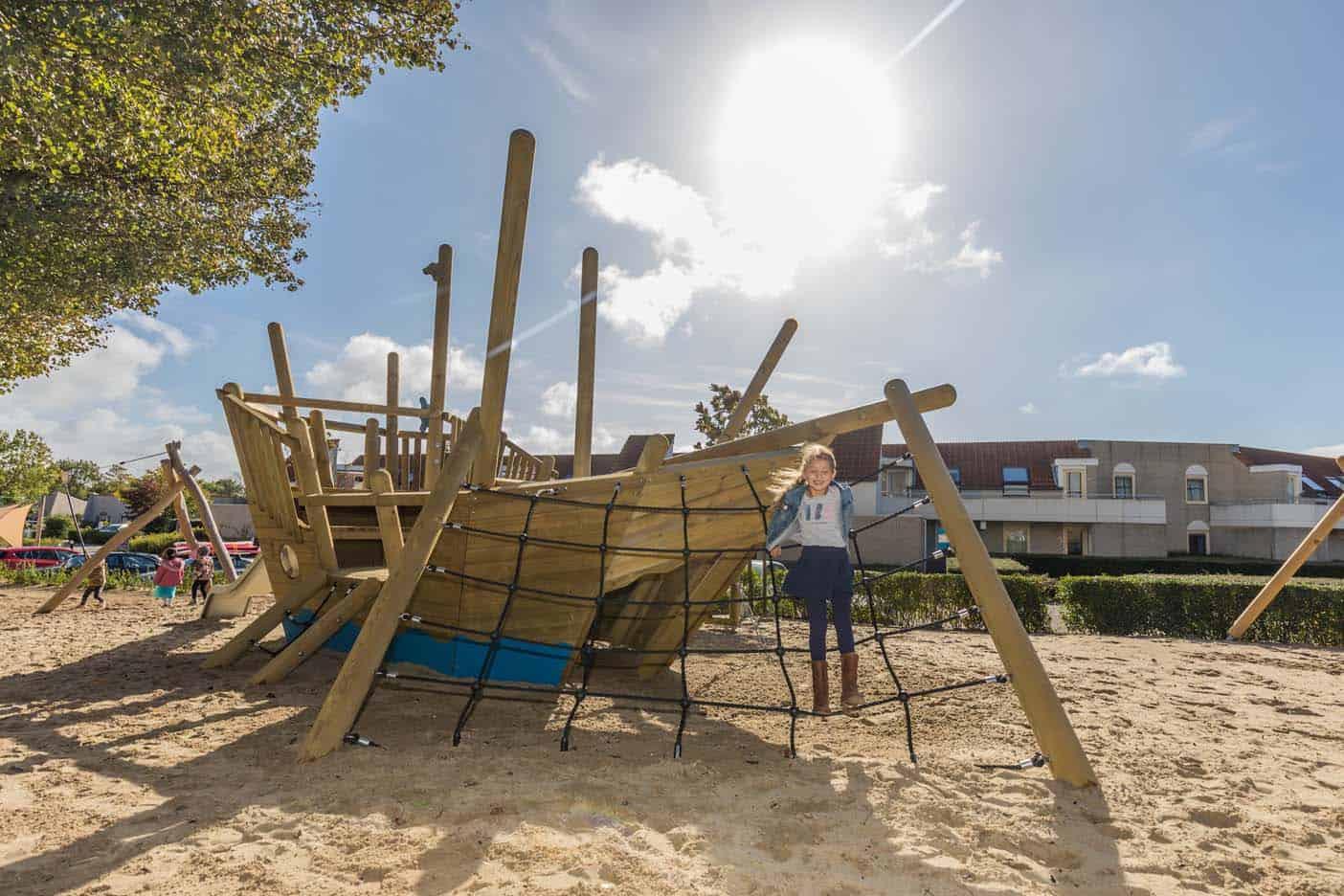 Landal port greve zeeland speeltuin
