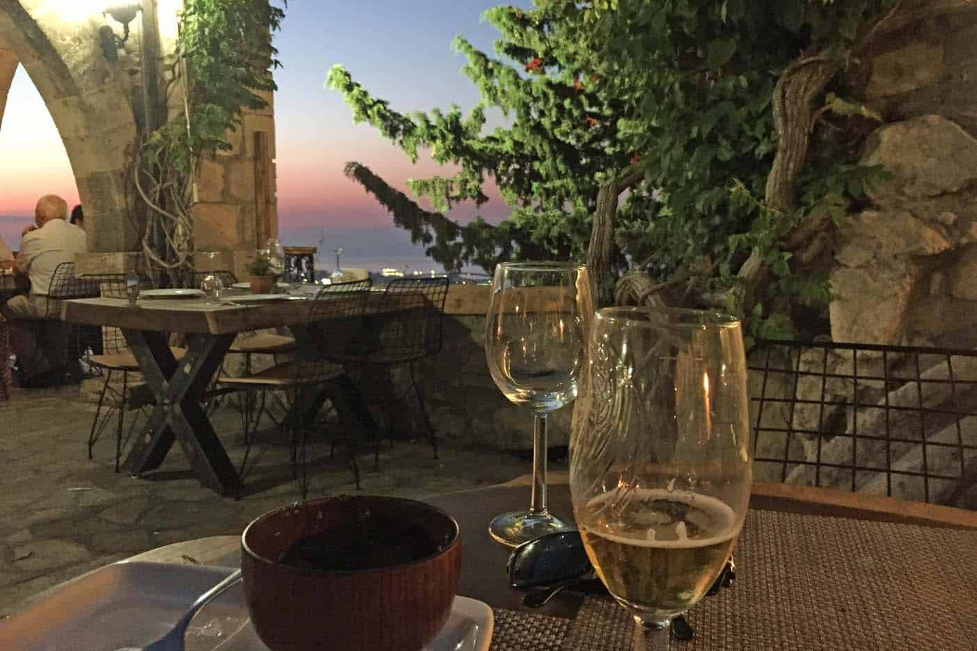 Cyprus klooster restaurant