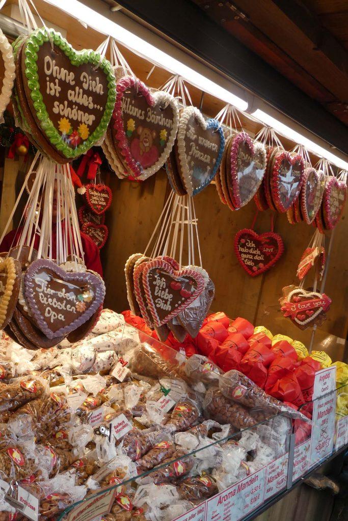 Weihnachtsmarkt in het centrum