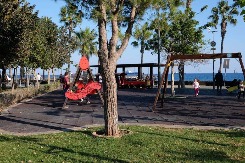 Limassol met kinderen