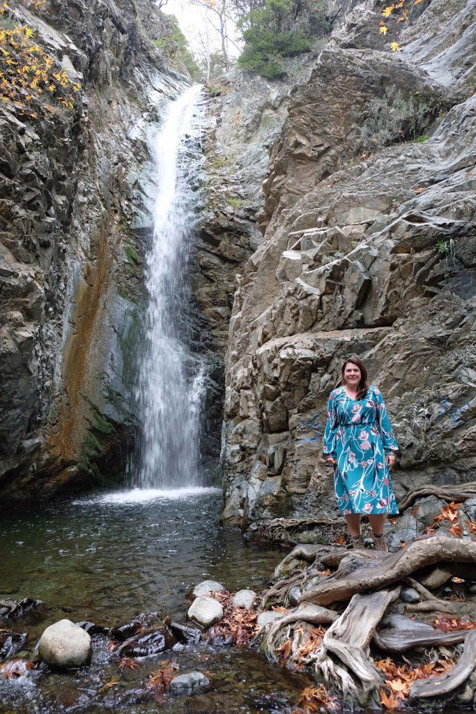Waterval cyprus trodos gebergte