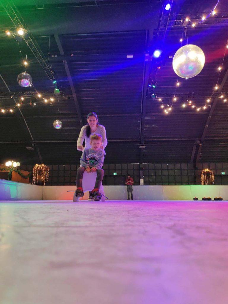 de krim texel schaatsen