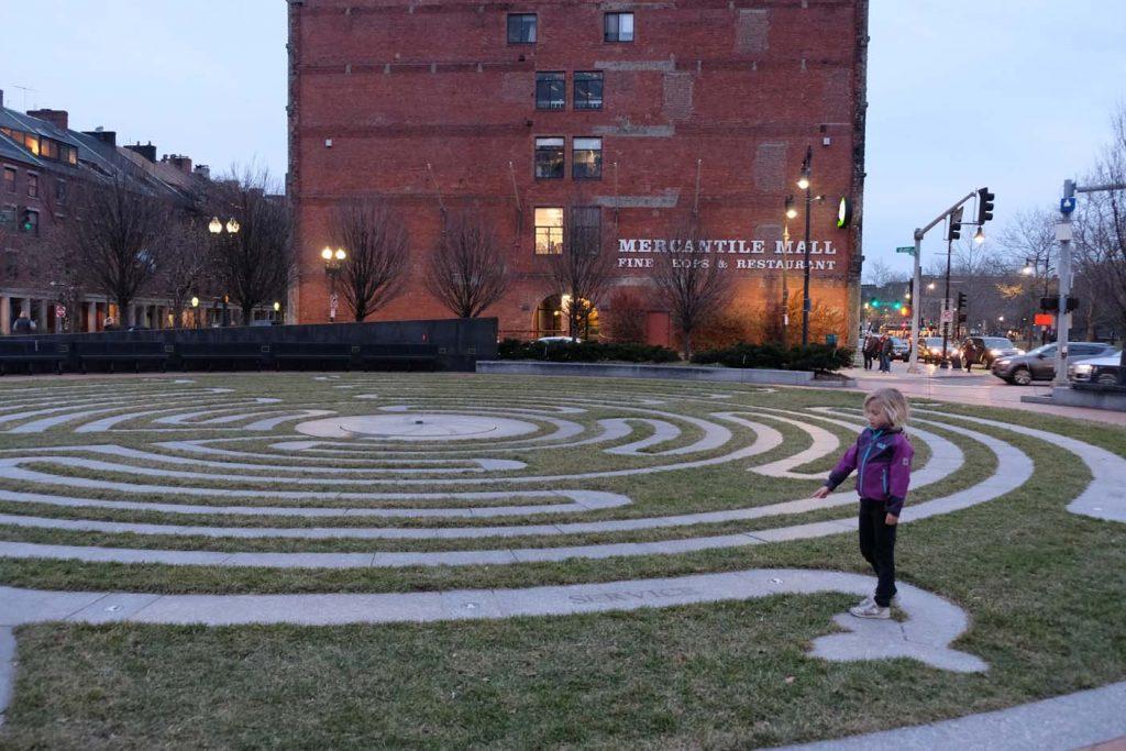 Boston met kinderen