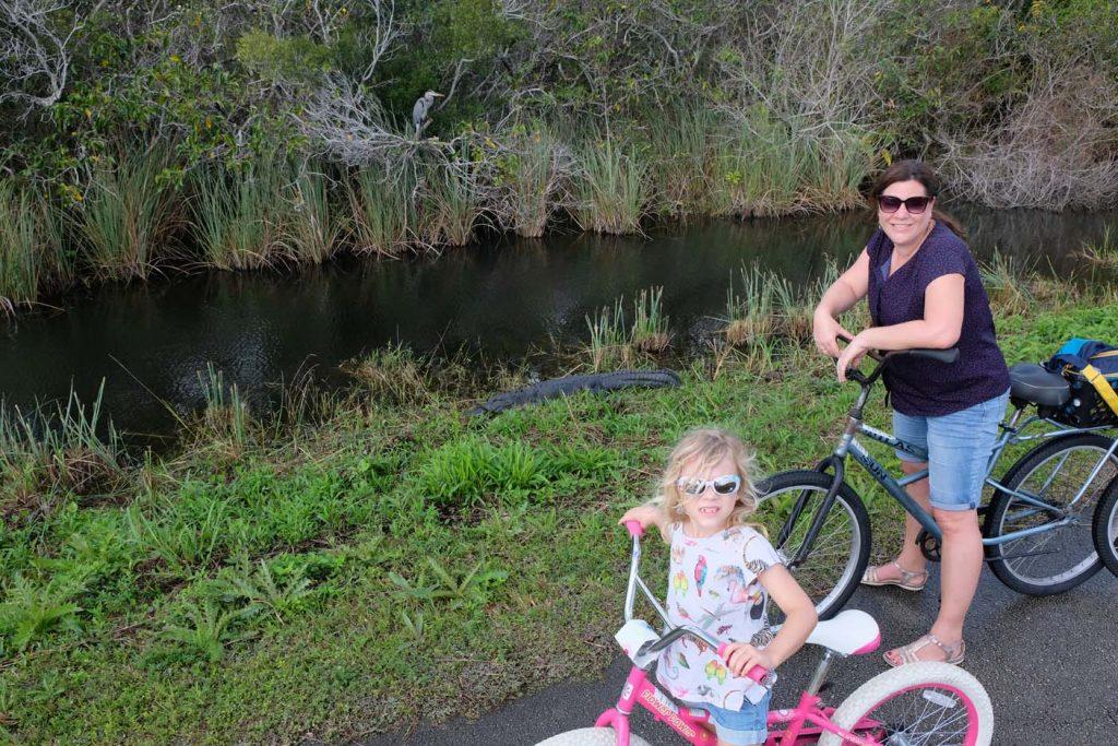 Fietsen in de Everglades