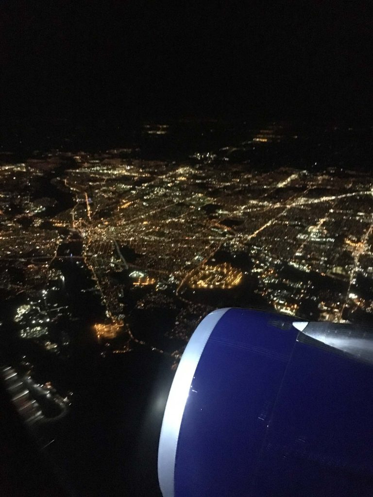 florida vliegtuig uitzicht miaimi