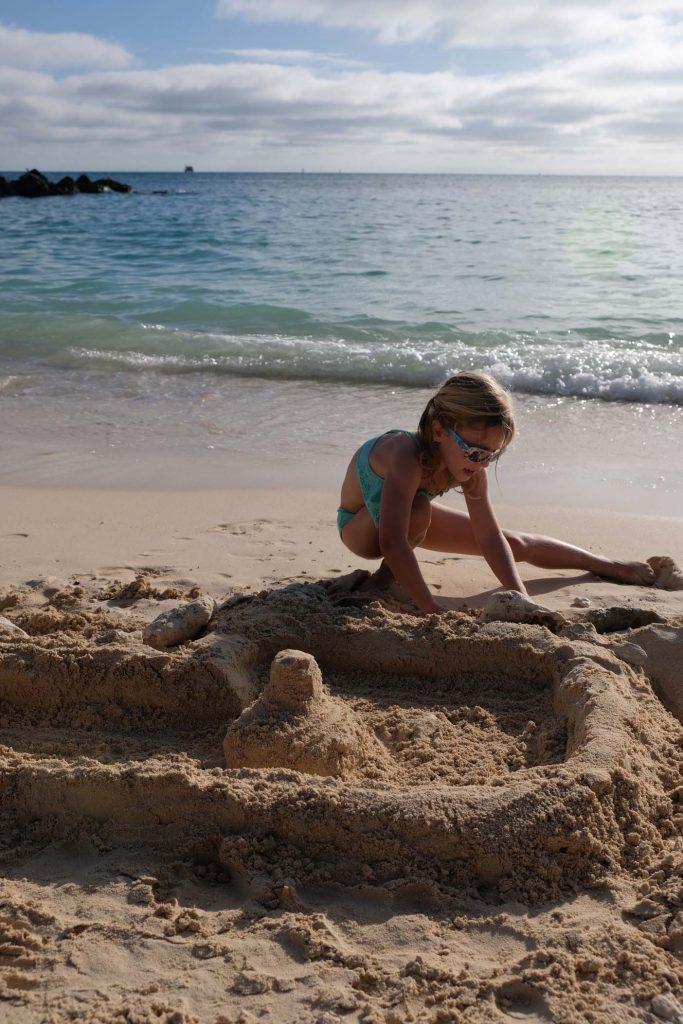 Fort Zachary Taylor en strand