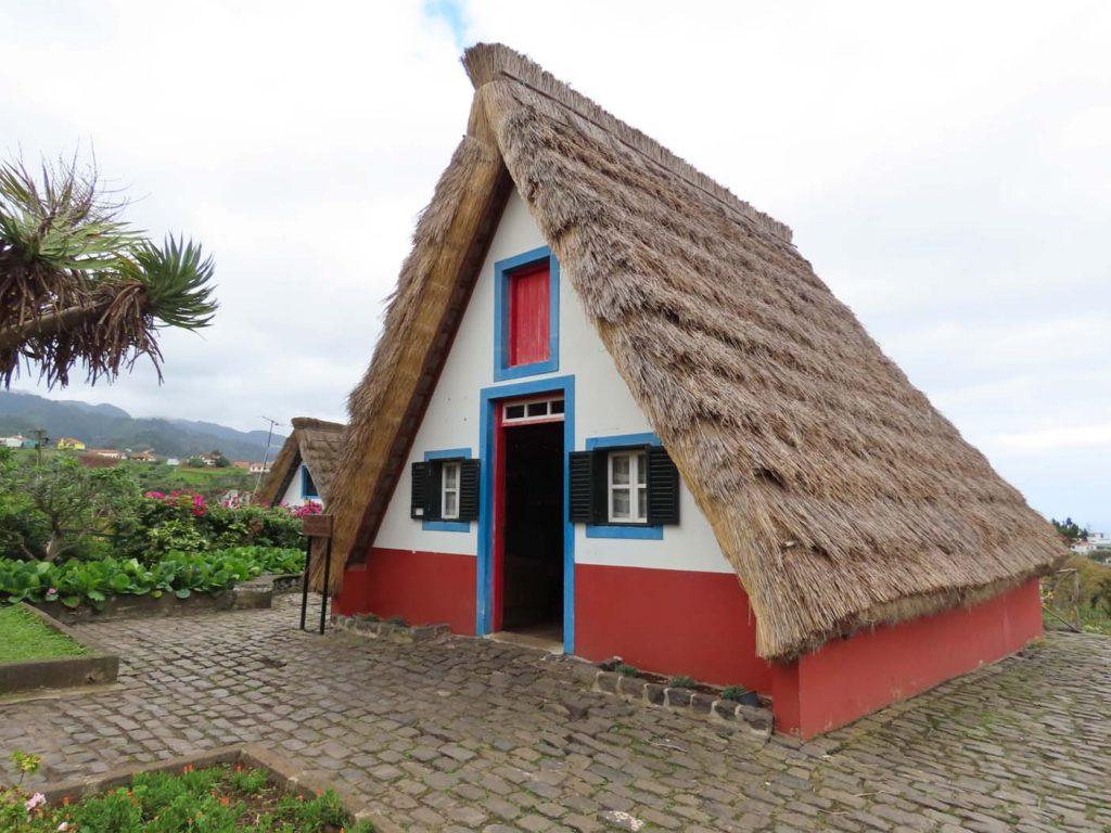 Madeira santana huis