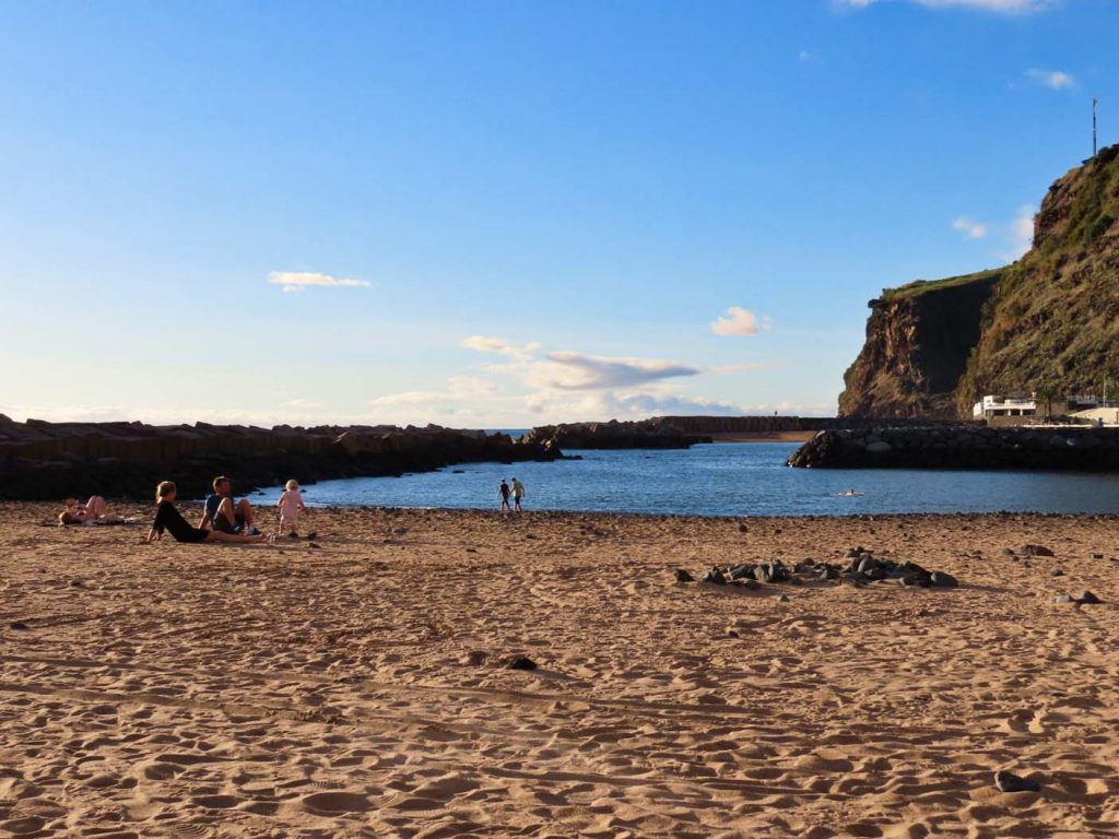Madeira strand calheta