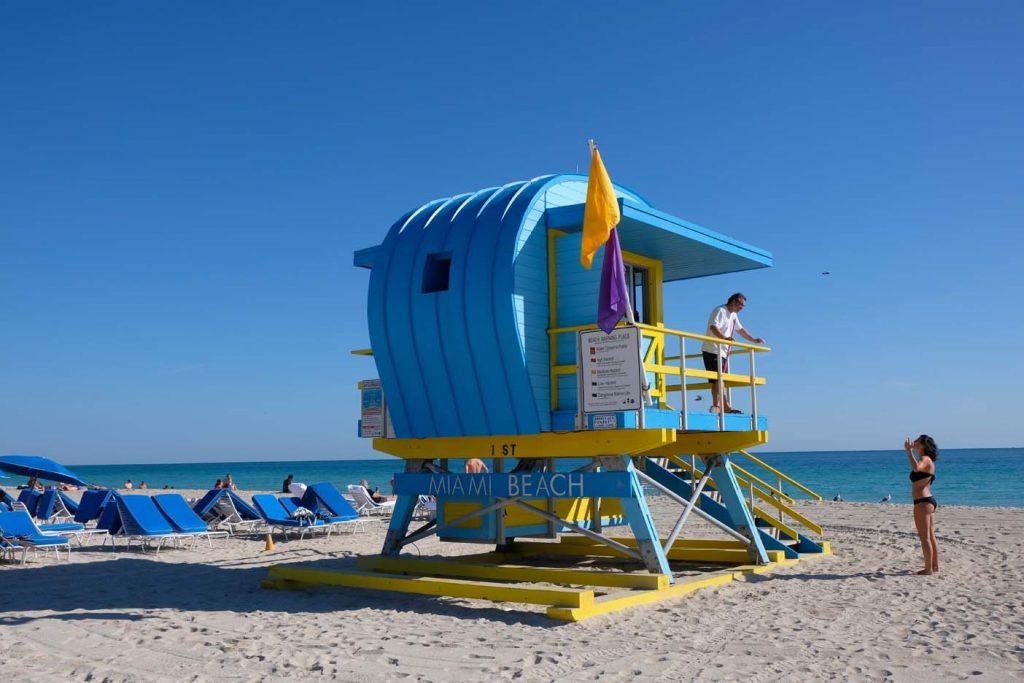 Miami met kinderen beach