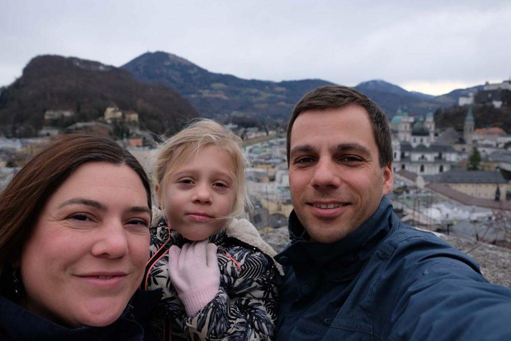 Salzburg met kinderen uitzichtpunt