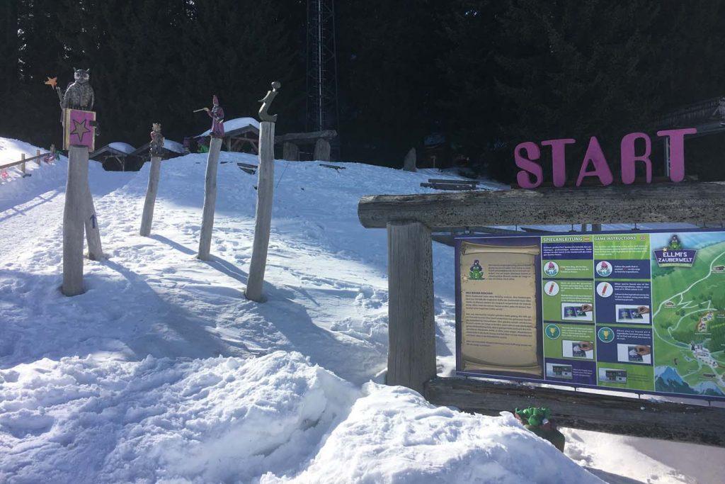 Ellmau met kinderen skigebied