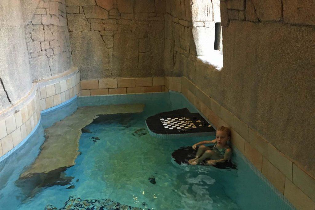 sauna met kinderen