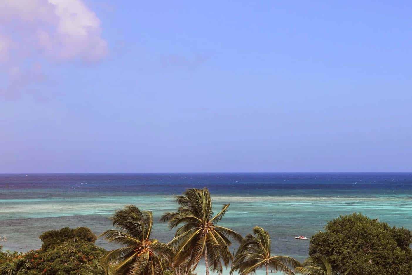 Strand bij Holguín