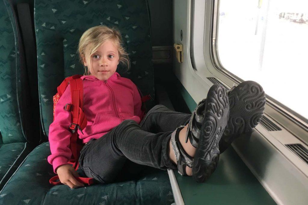 reizen met de trein met kind