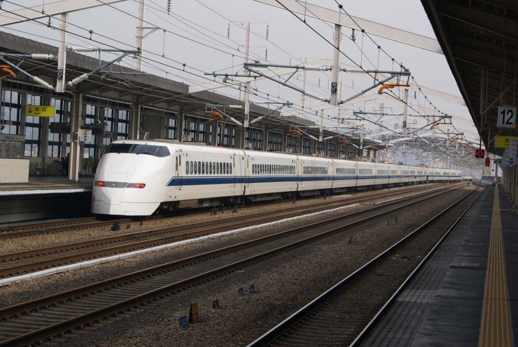 trein japan