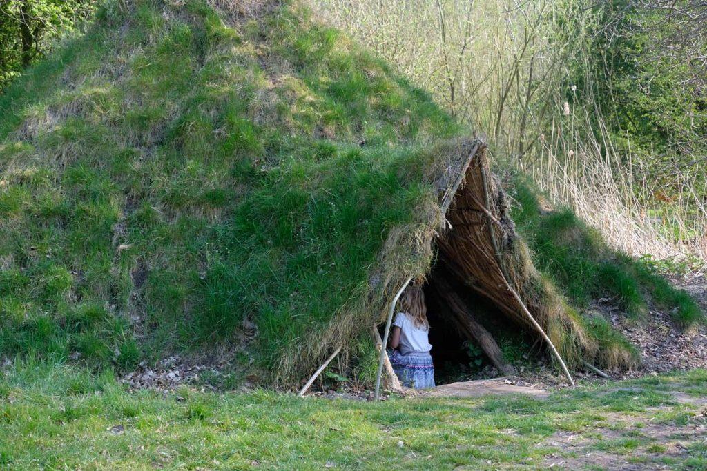 natuurpark Lelystad prehistorisch dorpje