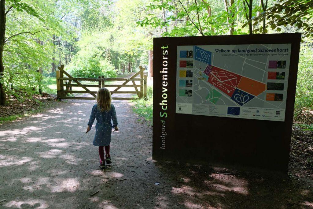 Wandelen op Landgoed Schovenhorst