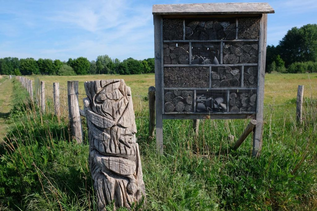 Bomen Kunst Sculpturen route