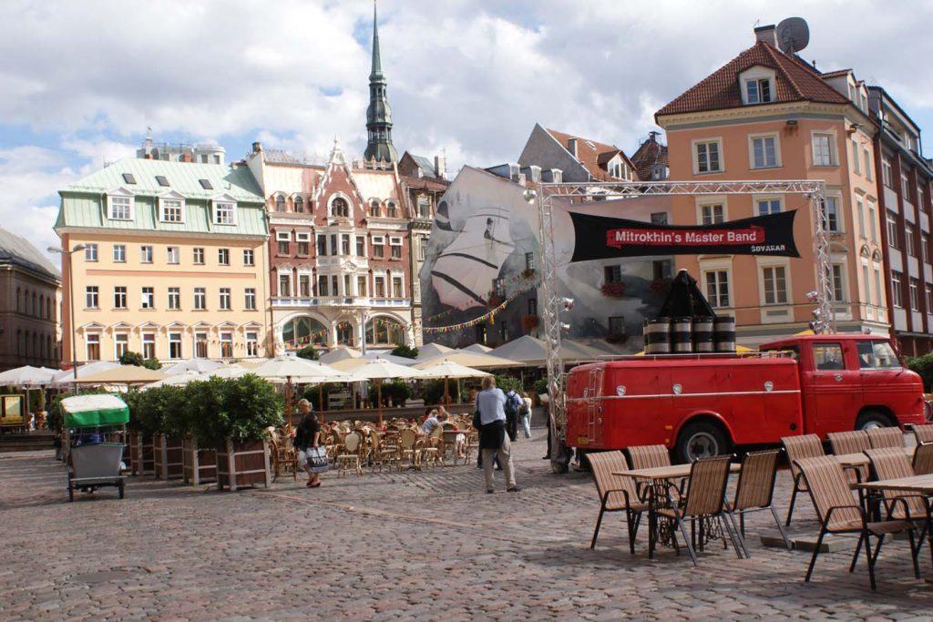 Riga met kinderen