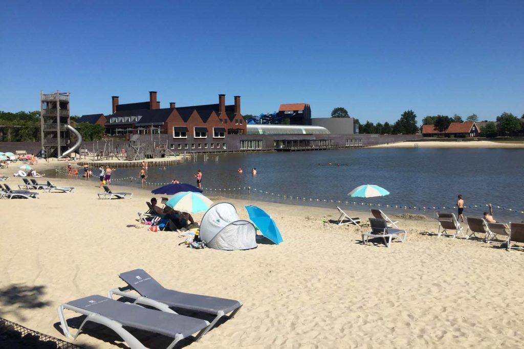 vakantiepark zwemvijver hof van saksen