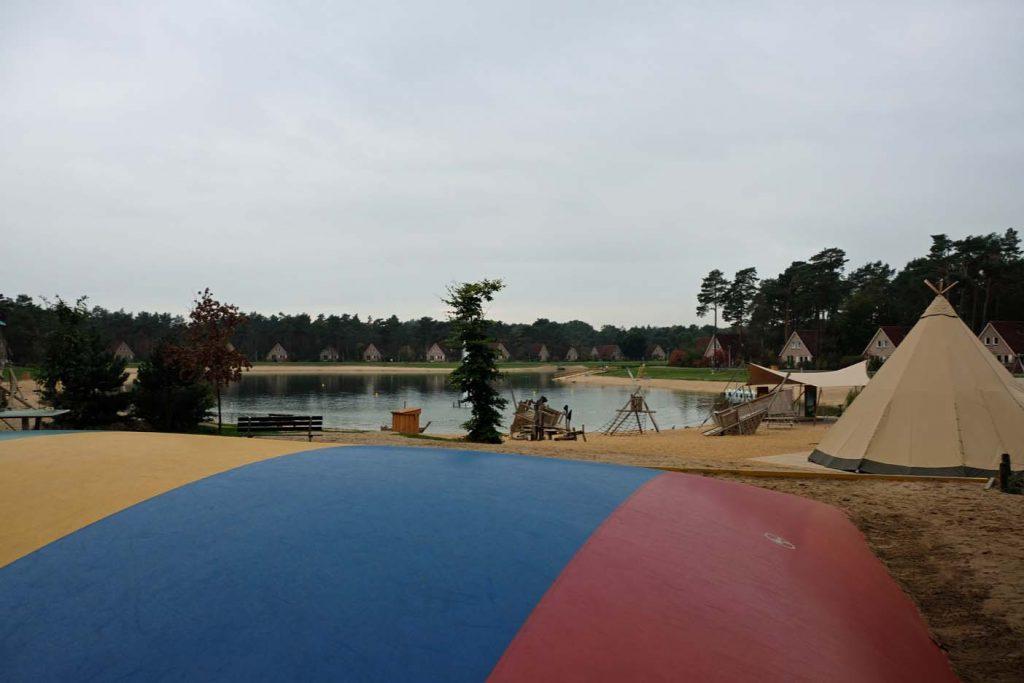 vakantiepark zwemvijver loo