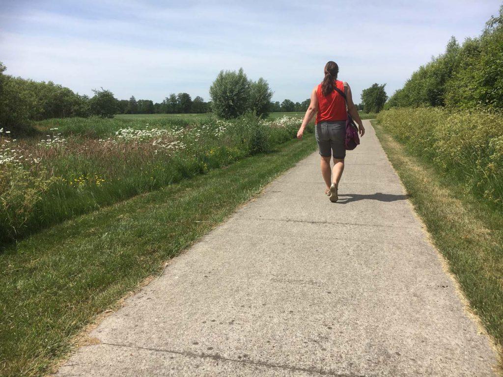 kuzemerkooi wandeling