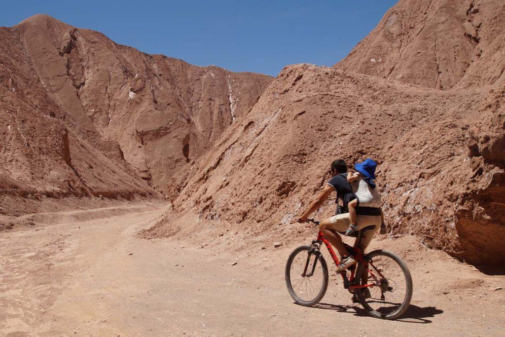 Mountainbike kind rugdrager