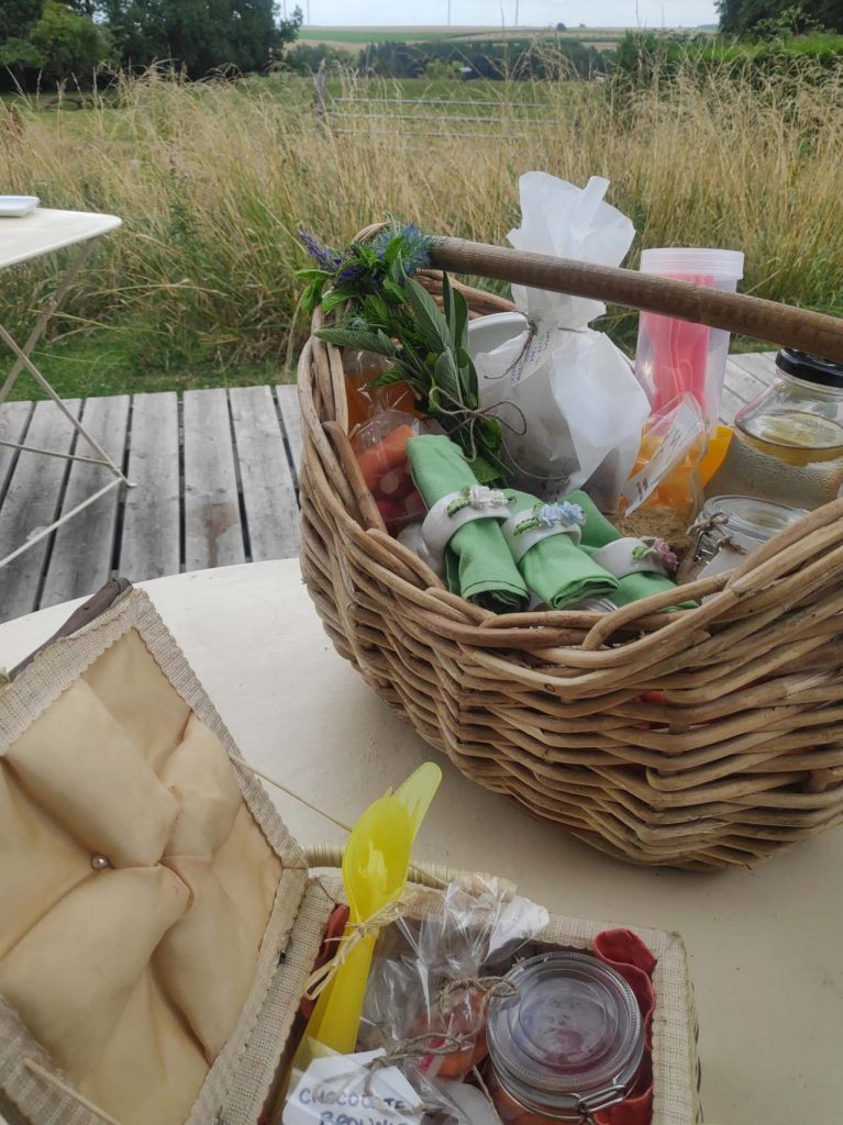 Picknicken bij L'eclappe et l'echappe