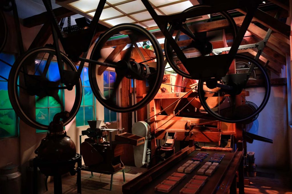caillier chocoladefabriek