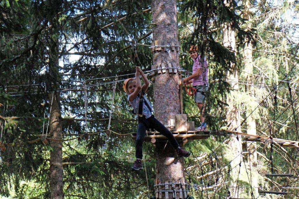 fun forest crans-montana