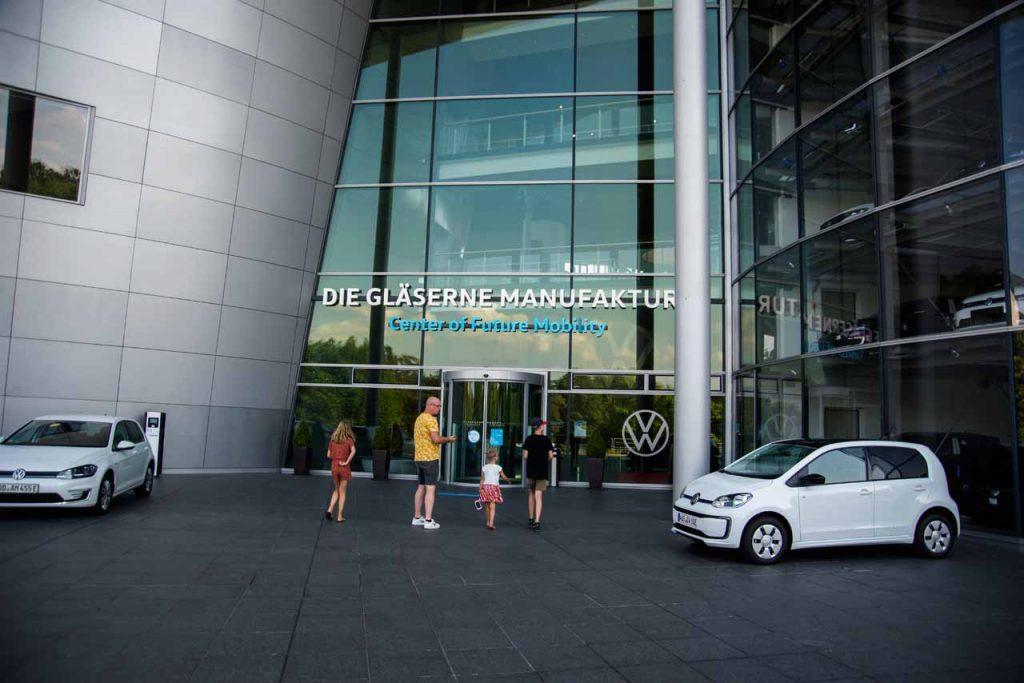 VW Gläserne Manufaktur