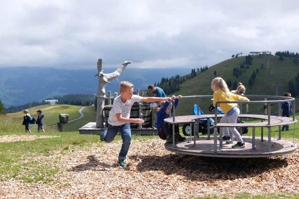 Wilder Kaiser met kids