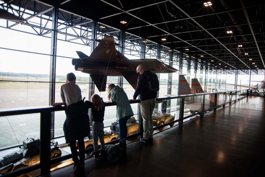 Nationaal Militair Museum met kinderen