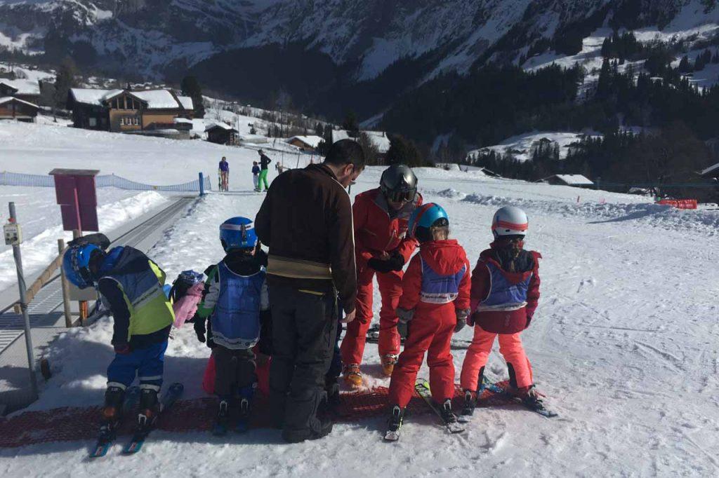Grindelwald met kinderen