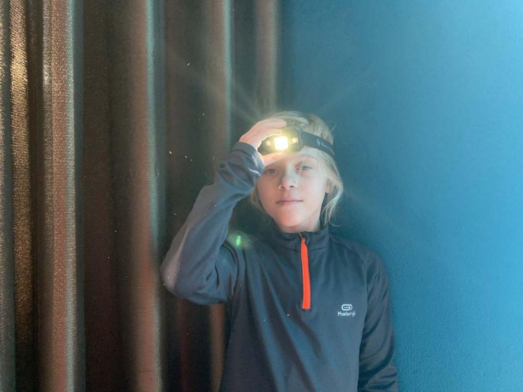 hoofdlampje kind