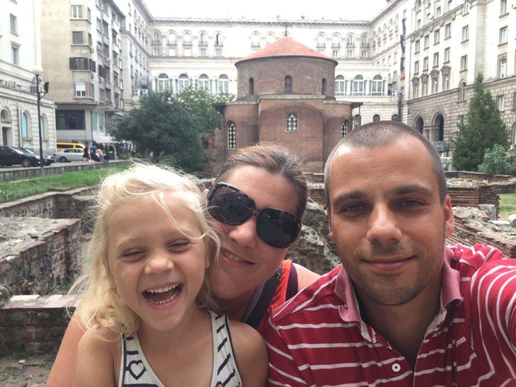 Balkan met kinderen