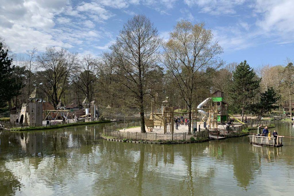 Huisje Landal de Lommerbergen speeltuin