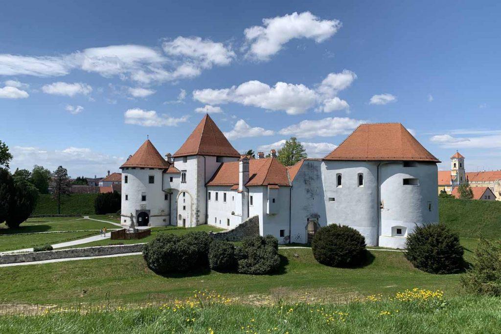 Stadmuseum en kasteel Varaždin