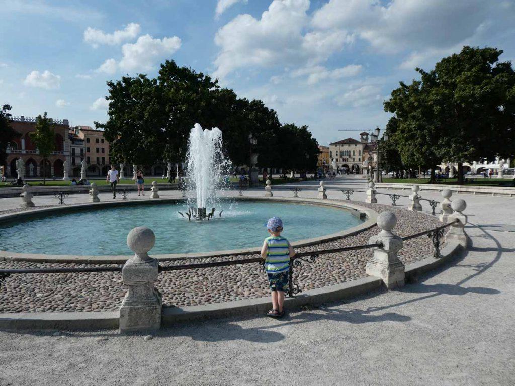 Padua met kinderen