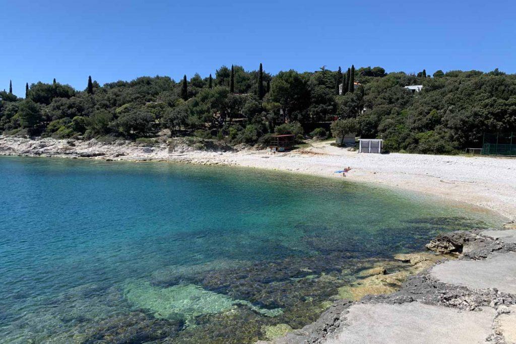 Istrie stranden