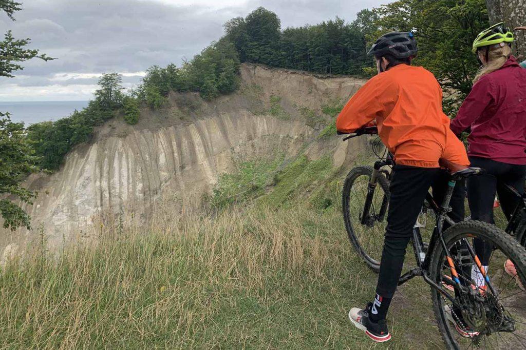Mountainbiken Møns Klint